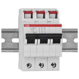 LS Leitungsschutzschalter, 3-polig, 16A, C Charakteristik, Baureihe S 200 S - ABB