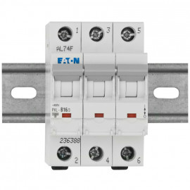 LS Leitungsschutzschalter, 3 polig, B Charakteristik Nennstrom 16A - Eaton