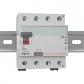 Leitungsschutzschalter, 4 polig, 63A / 0,03 Baureihe LEXIC TX³ Legrand