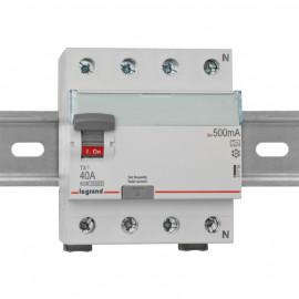 Leitungsschutzschalter, 4 polig, 40A / 0,5 Baureihe LEXIC TX³ Legrand