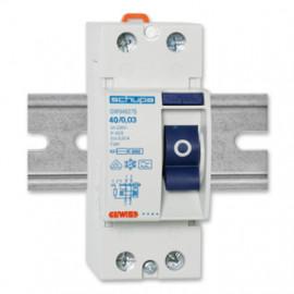FI Schutzschalter, 2-polig, Baureihe SD TYP A Ausführung 40A / 0,03