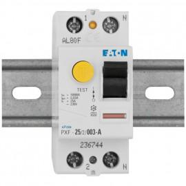 FI Schutzschalter, 2-polig, 25A / 0,03 - Eaton