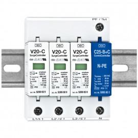 Überspannungsschutz, V 20-C/3 + NPE-280 - OBO