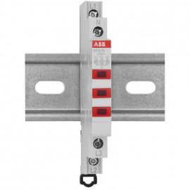 Leuchtmelder 3-polig rote LED Baureihe E 210 - ABB