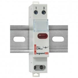 Leuchtmelder, 250V / 1,2W, rot, Baureihe LEXIC DX-E