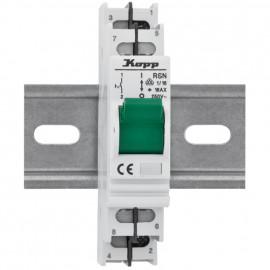 Einbaugerät, Kipp A Schalter, 16A Reiheneinbaugeräte - Kopp
