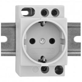 Einbaugerät, Schutzkontakt Steckdose - Kopp