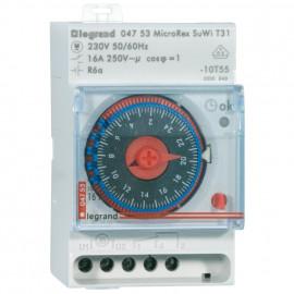 Schaltuhr, MICROREX-PLUG & PLAY, T 31 Schaltabstand 15 Minuten - Legrand