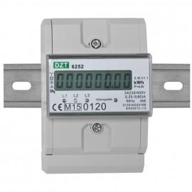 Drehstromzähler, DZT 6252, 3 x 230V/(5)80A, beglaubigt - Agenda