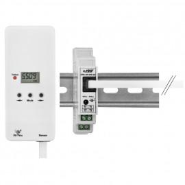 Funk Sensor, S0, für digitale Zähler, zum Auslesen der S0 Schnittstelle über S0 Interface