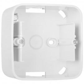 Schaltereinsatz Aufputz Gehäuse für REFLEX SI, alpinweiß, 1-fach