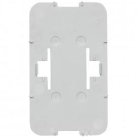 AGENDA AP Bodenplatte, 2-fach, reinweiß