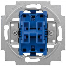 Schaltereinsatz Doppelwechsel mit Steckanschluss Busch-Jaeger