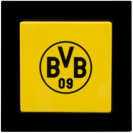 Komplettschalter, Unterputz - Wechselschalter mit Wippe Borussia Dortmund