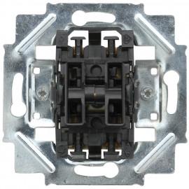 Schaltereinsatz Steckanschluss Tastereinsatz, 2 Schließer / 1 Eingangsklemme