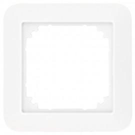 Abdeckrahmen, 1 fach, System 1 - M, polarweiß, glänzend, Merten