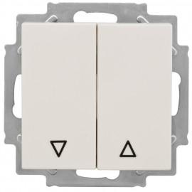 Jalousie Kombi Schalter, KLEIN® K50 reinweiß Wippenmaß 50 x 50 mm