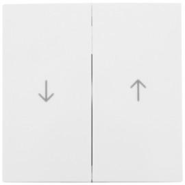 Wippe für Jalousie Schalter, SERIE S.1 polarweiß glänzend