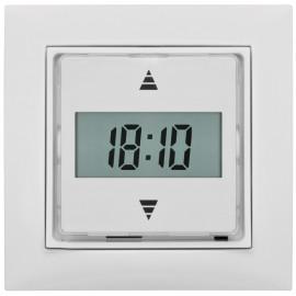 Jalousieschalter, Unterputz MERCATO Schalksmühle, Tagesprogramm, 50 x 50 mm