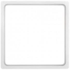 Adapterrahmen für Fremdgeräte mit Zentralplatte 50 x 50 mm, KOPP HK 07 reinweiß