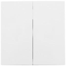 Wippe für Serien Doppelwechsel Schalter, SERIE S.1 polarweiß glänzend