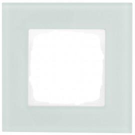 Schaltereinsatz Abdeckrahmen, 1 fach, mint / weiß, KLEIN® K55