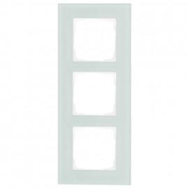 Schaltereinsatz Abdeckrahmen, 3 fach, mint / weiß, KLEIN® K55