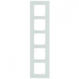 Schaltereinsatz Abdeckrahmen, 5 fach, mint / weiß, KLEIN® K55