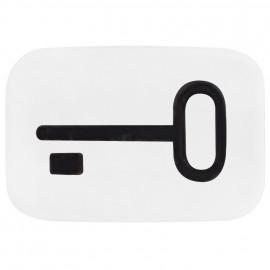 Schaltereinsatz Symbol Linse Tür für Tasterwippe REFLEX SI alpinweiß