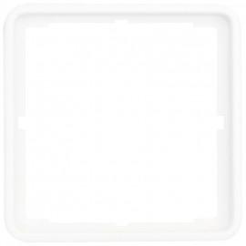 Adapterrahmen für Fremdgeräte mit Zentralplatte 50 x 50 mm, ultraweiß, CREO