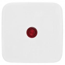 Wippe Schalterprogramme für Kontroll Schalter, mit Linse, KLEIN SI® reinweiß