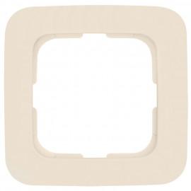 Abdeckrahmen Schalterprogramme, 1-fach, KLEIN SI® weiß