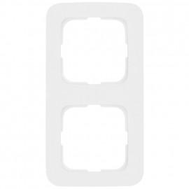 Abdeckrahmen Schalterprogramme, 2 fach, KLEIN SI® reinweiß