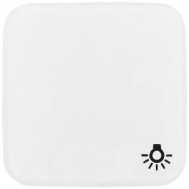 Schaltereinsatz Wippe für Licht für Taster, REFLEX SI alpinweiß