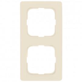Abdeckrahmen, 2 fach, Linear für Kabelkanalmontage, KLEIN SI® weiß