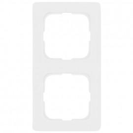 Abdeckrahmen, 2 fach, Linear für Kabelkanal Montage, KLEIN SI® reinweiß