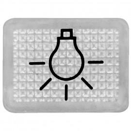 Lichtsymbol-Linse für Schalterprogramm Aufputz Feuchtraum, Presto Vedder