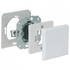 Schalter - Einsatz Aus / Wechsel, Unterputz, Feuchtraum, arktikweiß, Kopp