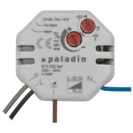 Tastdimmer Einbau für dimmbare Hoch und Niedervolt - LEDs, 4 - 100W, Paladin