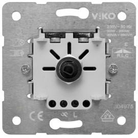 Dimmereinsatz Druck / Aus, 30 - 350 W / VA, Viko