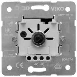 Dimmereinsatz Druck / Wechsel, 6 - 100 W / VA, Viko