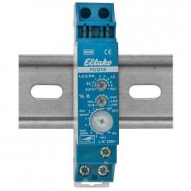 Funk-Dimmempfänger für Reiheneinbau, FUD14, 12V-DC, 1 Kanal 250V/400W, Eltako