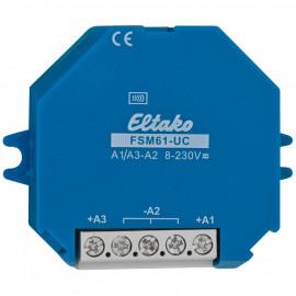 Funksender für Aufputz Montage oder Einbau in Unterputz Dose, 1 Empfängergruppe steuerbar