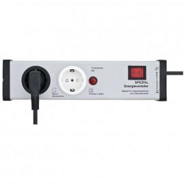 Energieverteiler Steckdosenleiste, 2 fach, 3 x 1,5²mm, 1,5 m, für hohem Energieverbrauch