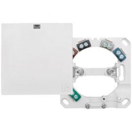 Geräteanschlussdose, Aufputz / Unterputz, 5 x 2,5², H 24 mm, reinweiß