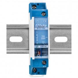 Stromstoßschalter, S12-100 230V, 250V / 16A - Eltako