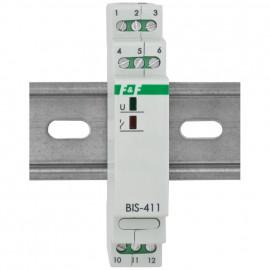 Stromstoßschalter, 10A-AC 1-polig 1 Schließer, lautlos