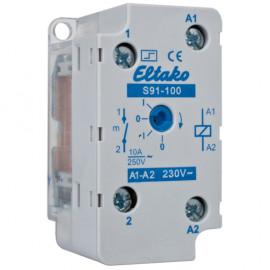 Stromstoßschalter, S91-100 230V,UP, 230V / 10A - Eltako