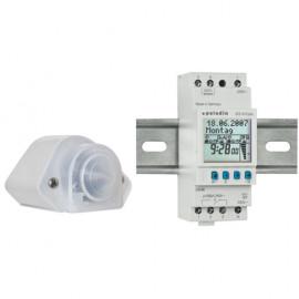 Dämmerungsschalter, für Reiheneinbau, IP 54 230V / 2000W / 1000VA Paladin