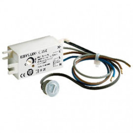 Dämmerungsschalter Einbau, CDS-E , 230V / 1000W / 500VA 5 bis 300 Lux einstellbar